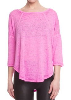 Betsey Johnson Heathered Jersey Pullover
