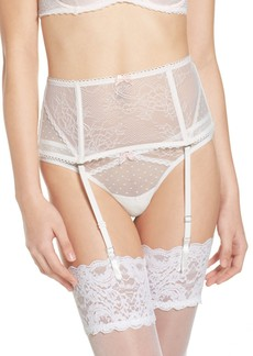 Betsey Johnson High Waist Garter Belt