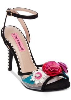 Betsey Johnson Jamie Dress Sandals Women's Shoes