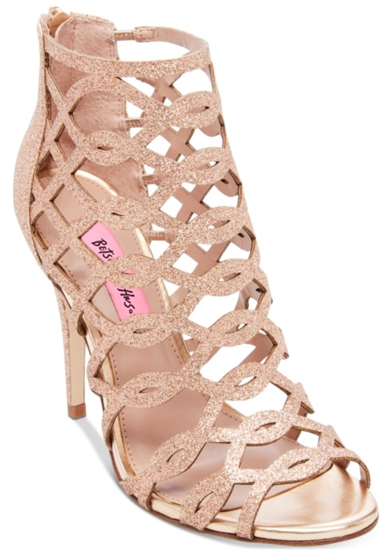 Betsey Johnson Judeth Caged Dress Sandals Women's Shoes