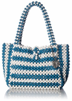 Betsey Johnson Just Bead It Bag blue