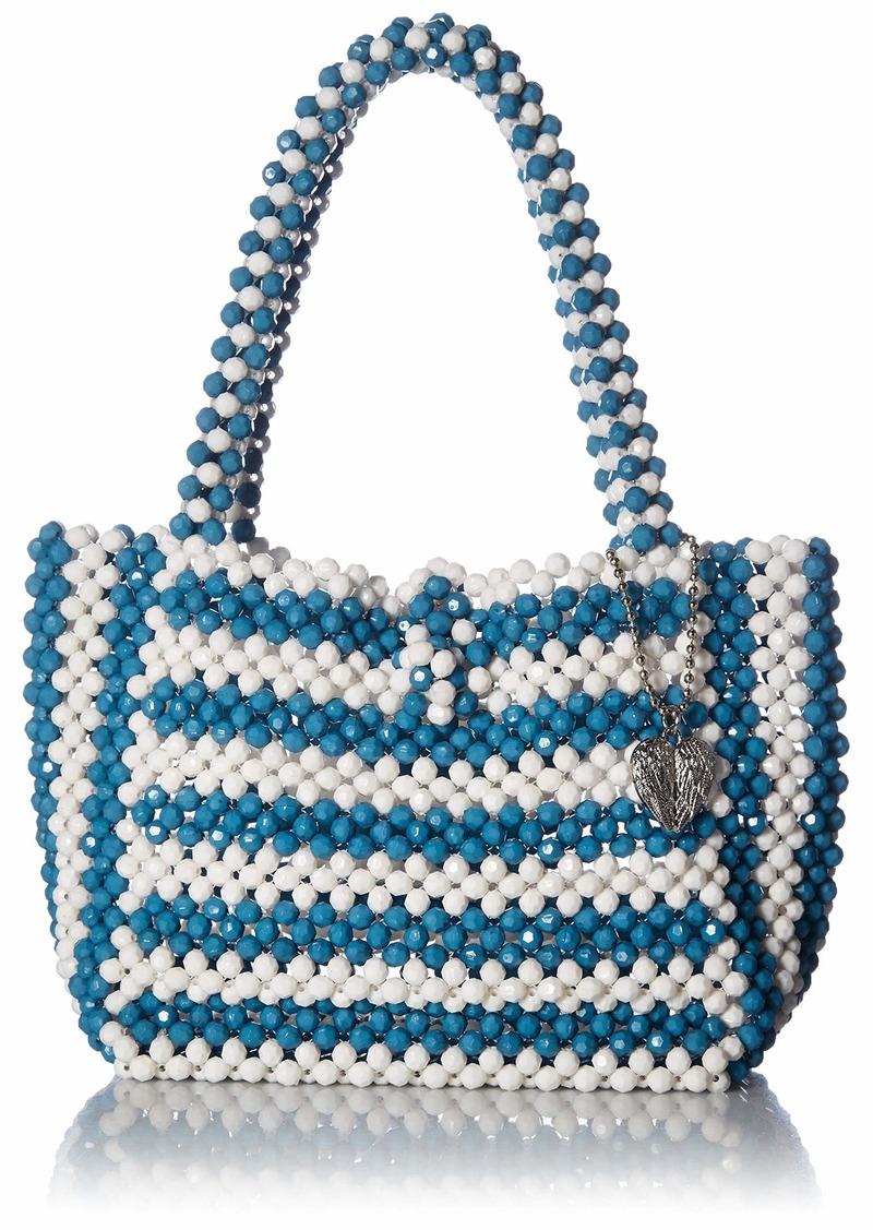 Betsey Johnson Just Bead It Bag blue