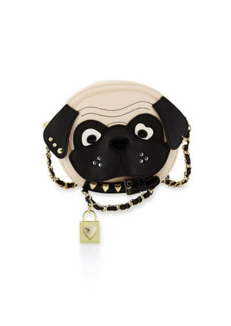 Betsey Johnson Betsey Johnson Kitchi Dog Face Crossbody