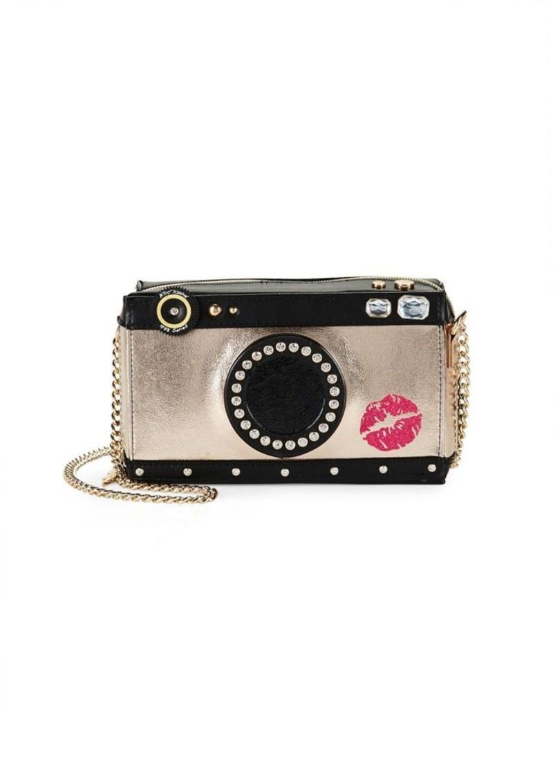 da14376d28f3 Betsey Johnson Betsey Johnson Kitsch Camera Crossbody Bag