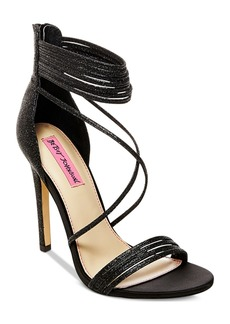 Betsey Johnson Kora Strappy Evening Sandals Women's Shoes
