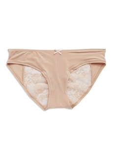 Betsey Johnson Lace Back Bikini Panties