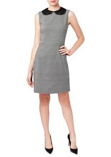 Betsey Johnson Lace Collar Shift Dress
