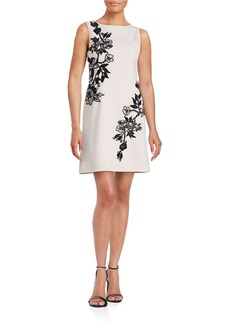 BETSEY JOHNSON Lace Floral Print Dress
