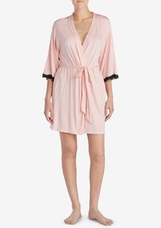 Betsey Johnson Lace-Heart Robe