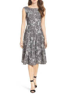 Betsey Johnson Lace Midi Dress