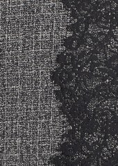Betsey Johnson Lace Trim Tweed Sheath Dress