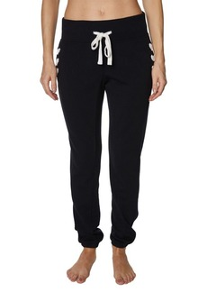 Betsey Johnson Lace-Up Side Joggers