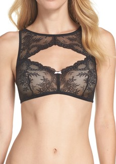 Betsey Johnson Lacy Glam Lace Underwire Bra