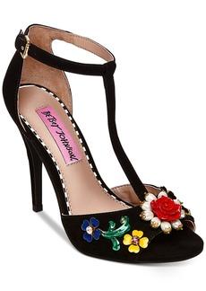 Betsey Johnson Lenox Dress Sandals Women's Shoes