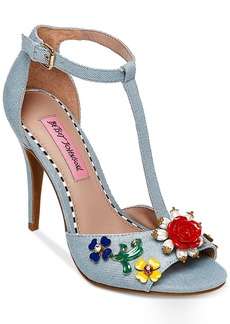 Betsey Johnson Lenox Dress Sandals Women's Shoes