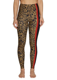 Betsey Johnson Leopard-Print Pocket Leggings