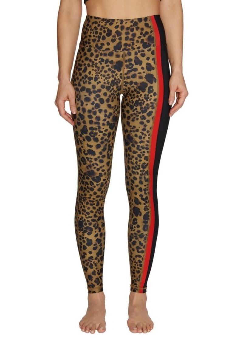Betsey Johnson Leopard-Print Pocket Leggings
