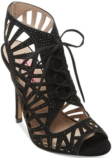 Betsey Johnson Lexxe Cage Sandals Women's Shoes