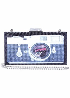 Betsey Johnson Lights Camera Action Bling Clutch