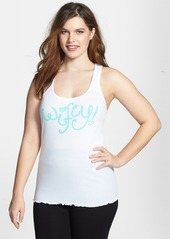 Betsey Johnson 'Man Handler - Bachelorette' Rib Tank (Plus Size)