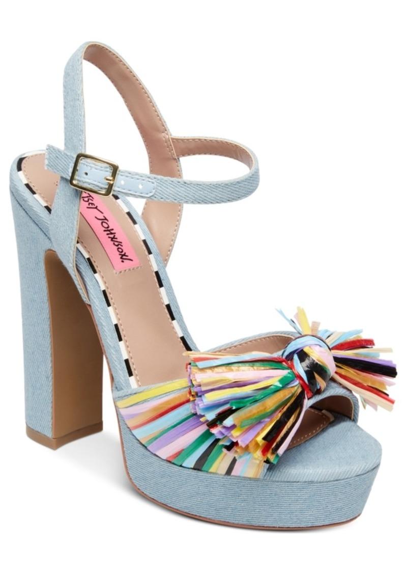 973e2054238e Betsey Johnson Betsey Johnson Mandy Dress Sandals Women s Shoes