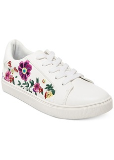 Betsey Johnson Maya Embroidered Sneakers Women's Shoes