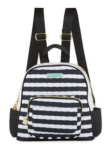 Betsey Johnson Medium Nylon Printed Backpack