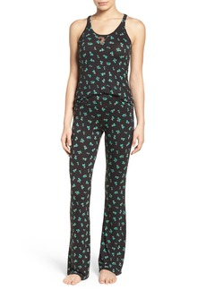 Betsey Johnson Mesh Inset Pajamas