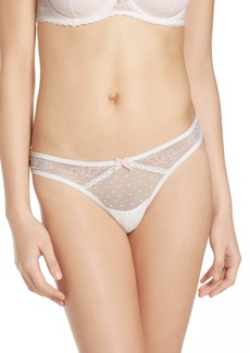 Betsey Johnson Mesh Thong