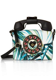 Betsey Johnson Mini Palm Print Phone Bag multi