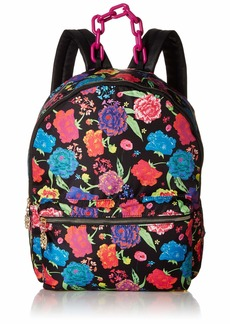 Betsey Johnson Nylon Large Backpack