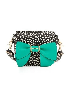Betsey Johnson Oh Bow You Didn't Saddle Bag