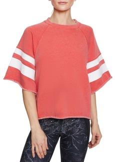 Betsey Johnson Oversized-Sleeve French Terry Sweatshirt