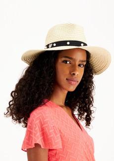 Betsey Johnson Pearls The Way Panama Hat