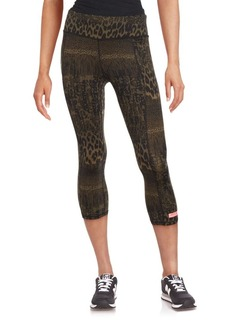 Betsey Johnson Performance Animalia Print Leggings