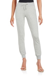 Betsey Johnson Performance Blended Cotton Drawstring Waist Pants