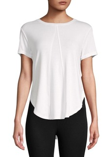 Betsey Johnson Draped Open Back Tee