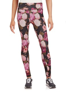 Betsey Johnson Performance Floral Printed Leggings