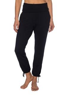 Betsey Johnson Foldover Ankle Tie Skinny Pants