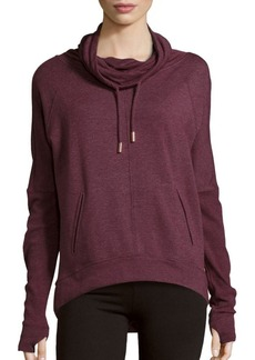Betsey Johnson Funnel Neck Pullover