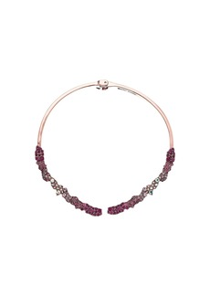 Pink Hinge Collar Necklace