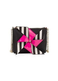 Betsey Johnson Pinwheel Crossbody Bag