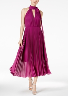 Betsey Johnson Pleated Midi Dress