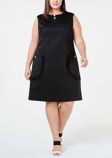 Betsey Johnson Plus Size Pocket Shift Dress