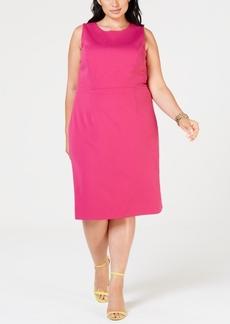 Betsey Johnson Plus Size Scuba Sheath Dress