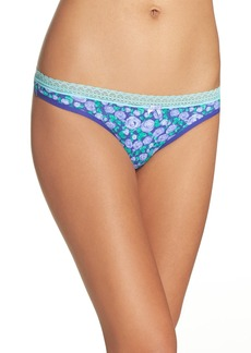Betsey Johnson Print Thong (3 for $33)