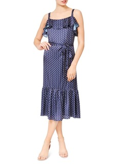 Betsey Johnson Printed Midi Dress