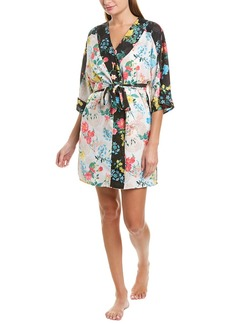 Betsey Johnson Printed Robe