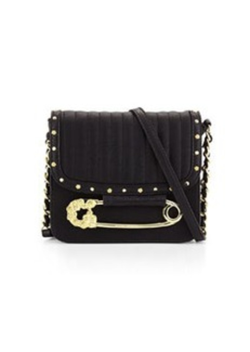 Betsey Johnson Betsey Johnson Quilted Safety Pin Crossbody