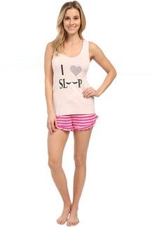 Betsey Johnson Rayon Knit Short Set